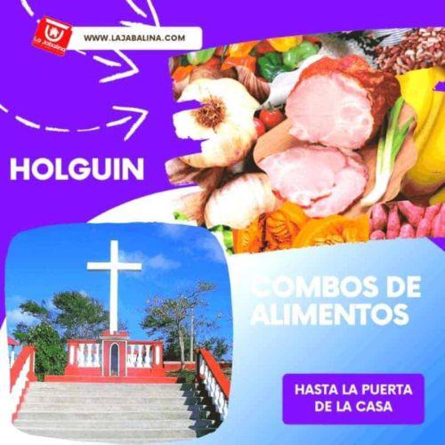 Envio de alimentos y aseo a Holguin